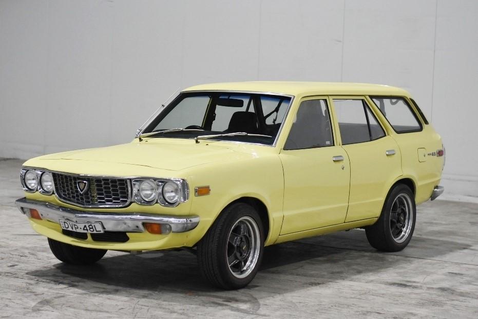 1975 Mazda 808/RX3 12a Bridgeport 5 Speed Manual Wagon