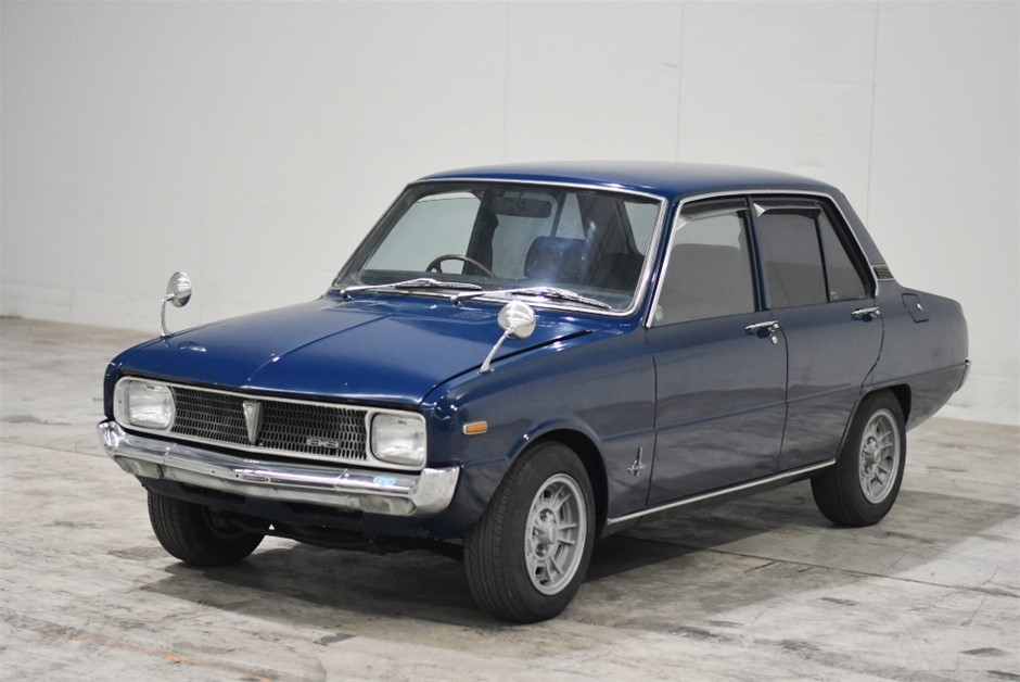 1970 Mazda Familia SS (R100) M10a Rotary Manual Sedan