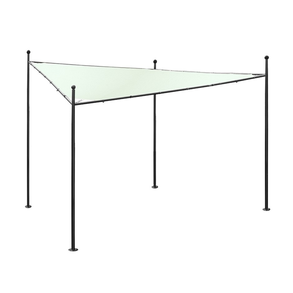 Instahut 4x4m Gazebo Party Wedding Marquee Tent Shade Iron Art Canopy