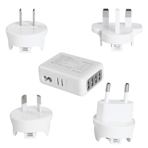 Universal Travel Charger - White
