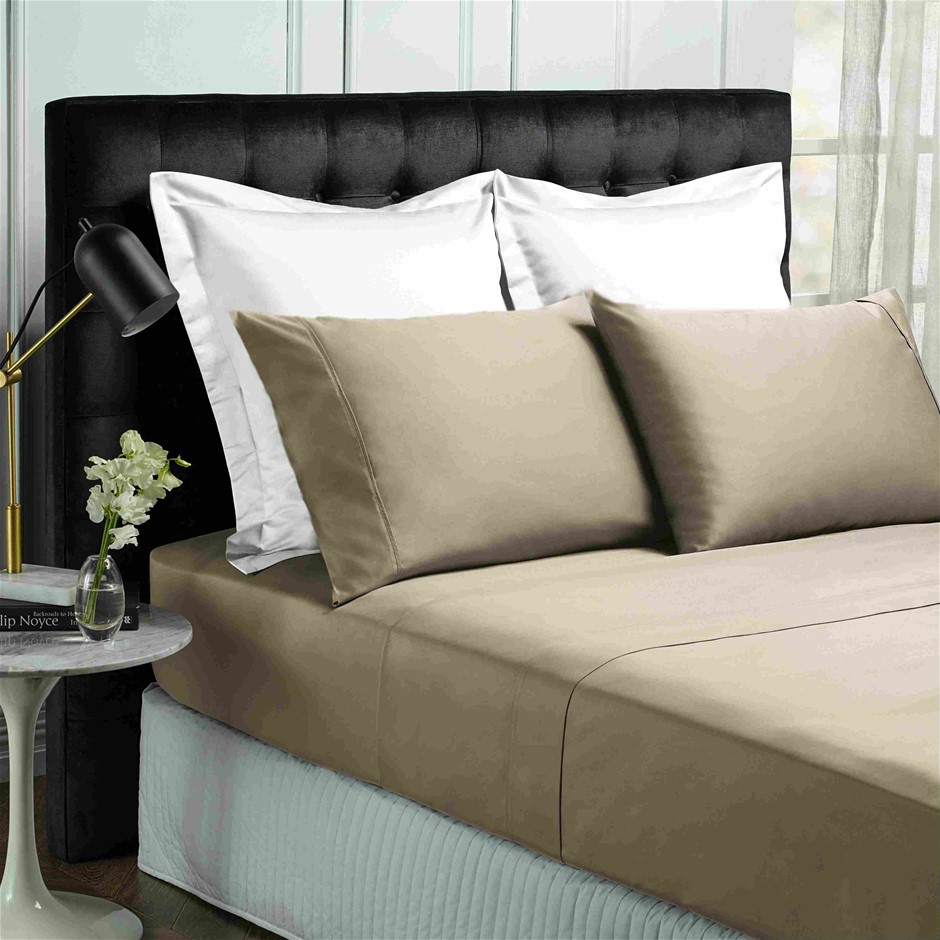Park Avenue 500 Thread count Cotton Bamboo Sheet Set - King - Pewter