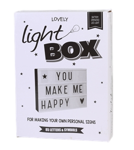 Letter Light Box w/ 85 Letters and Symbo