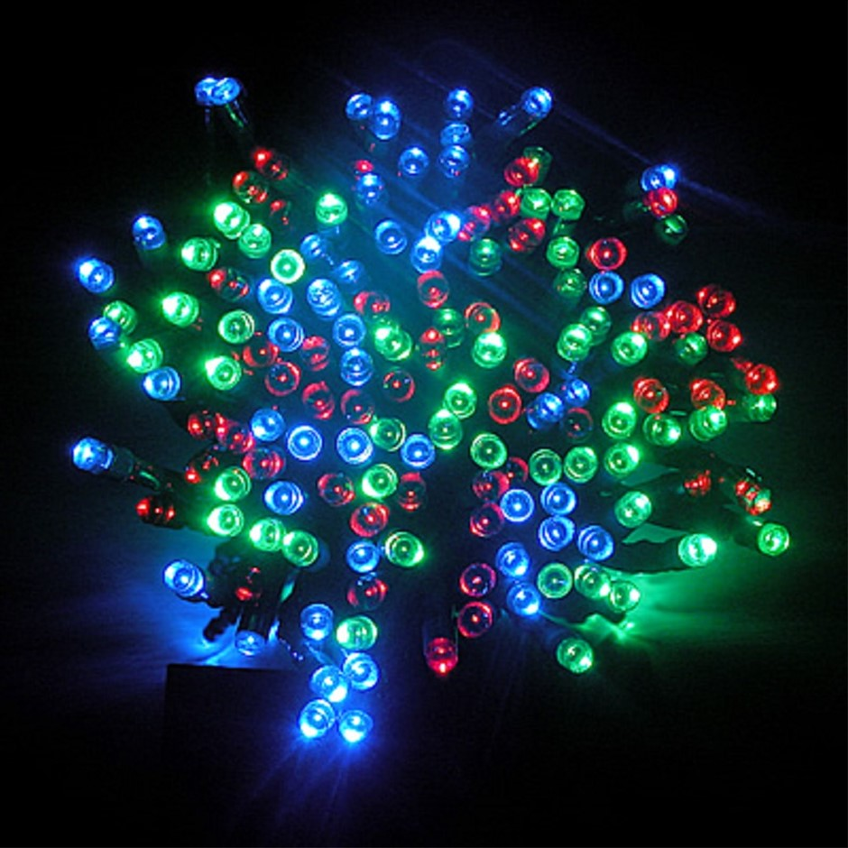600 LED Solar String Lights - RGB