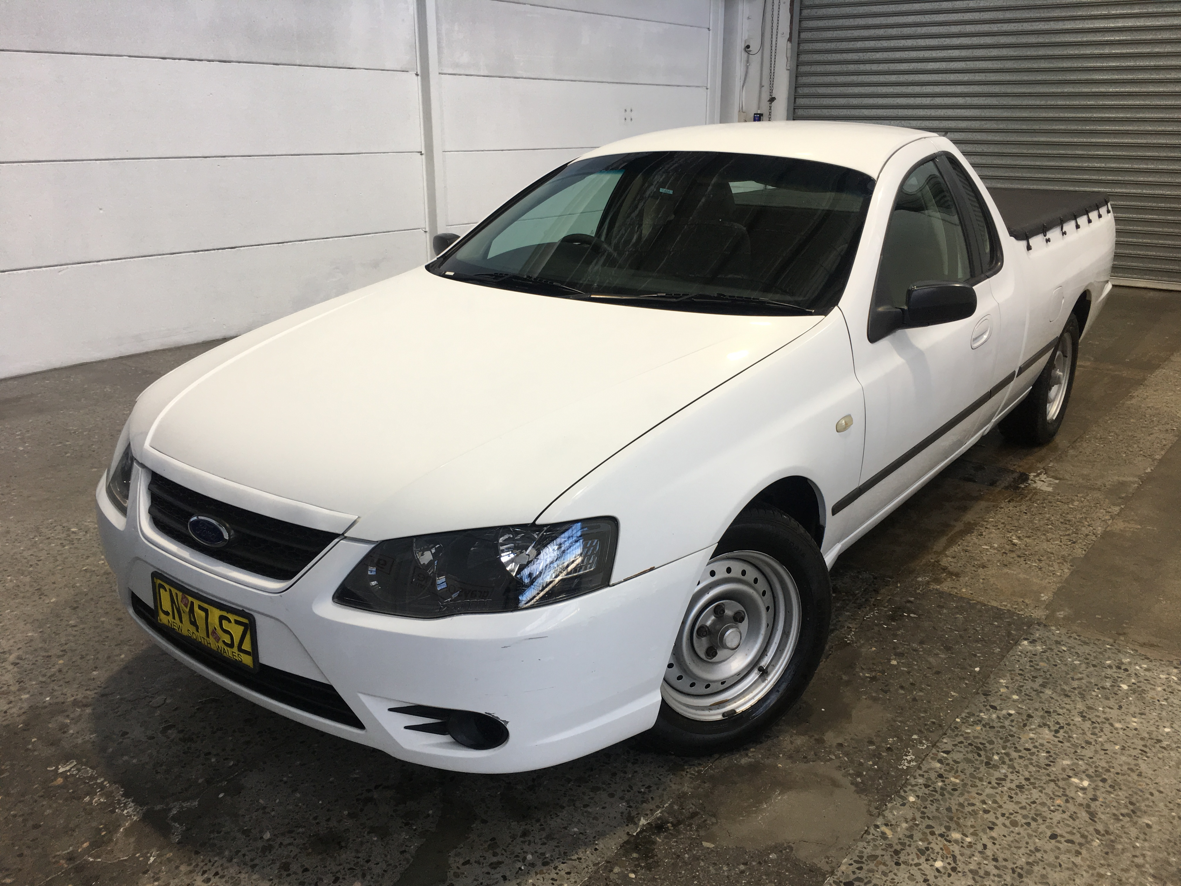 2008 Ford Falcon XL (LPG) BF MKII Automatic Ute