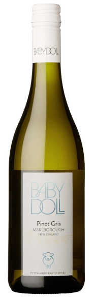 Babydoll Pinot Gris 2018 (12x750ml) Marlborough, NZ