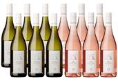 Babydoll Pinot Gris & Rose Mixed Case (12x750ml), Marlborough, NZ