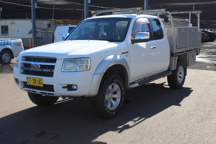 2008 Ford Ranger XLT (4x4) PJ Turbo Diesel Automatic Ute