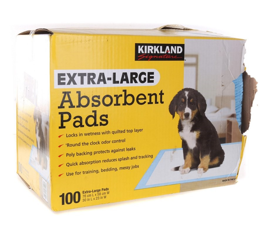 100 x SIGNATURE Extra Large Absorbent Pads for Dogs. N.B. Damage packaging.