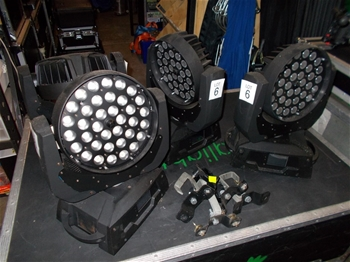 Custom RGBW Touchscreen Moving Heads