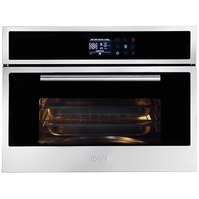 ILVE 60cm Stainless Steel Combination Steam Oven (ILCS45X)