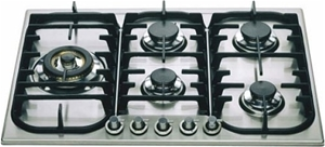 ILVE 70cm Stainless Steel Gas Cooktop (H
