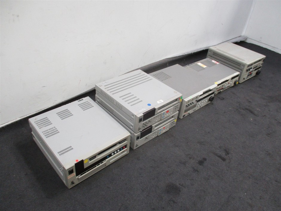 Qty 6 x Various Video Cassette Recorders