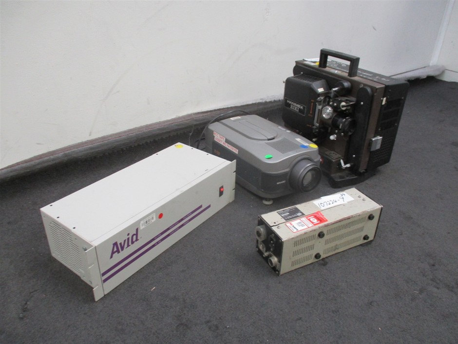 Qty 4 x Various Early Technology Equipment