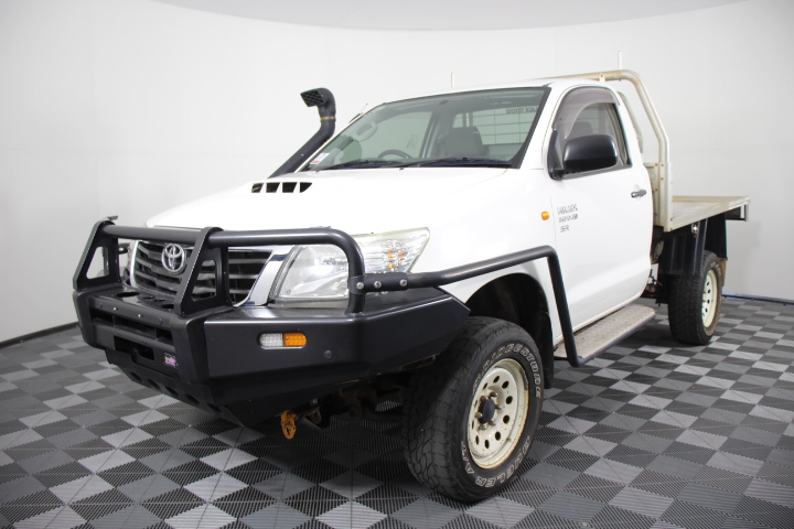 2011 Toyota Hilux SR 3.0 T/Diesel 4WD Cab Chassis 151,153kms