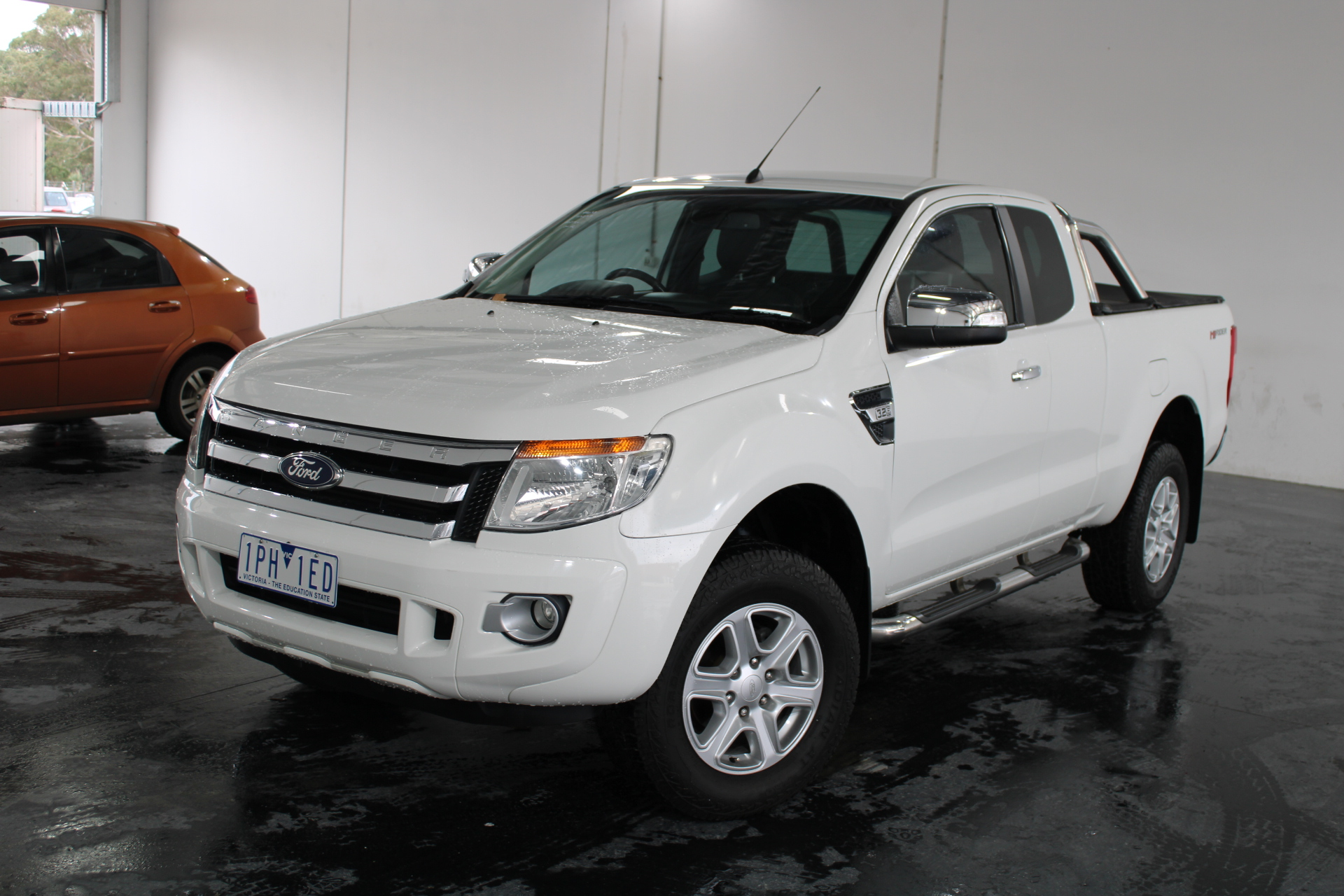 2013 Ford Ranger XLT 4X2 Hi-Rider PX Turbo Diesel Automatic Ute