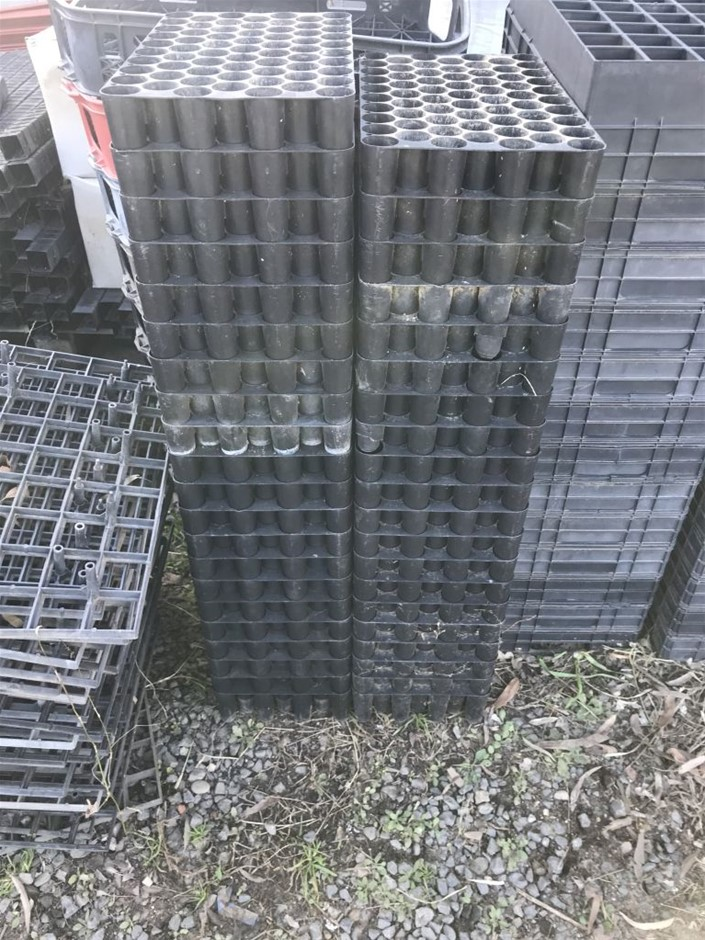 Hicko V50 - 67 cells, approx. 40 trays, 90mm x 220mm x 450mm.
