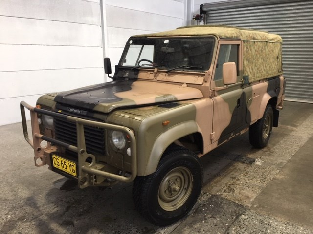 1990 Land Rover Military 110 4WD Manual Ute