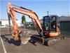 Kubota U55 5.5 Ton Zero Swing Mini Excavator