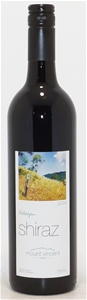 Mount Vincent `Watagan` Shiraz 2004 (6x
