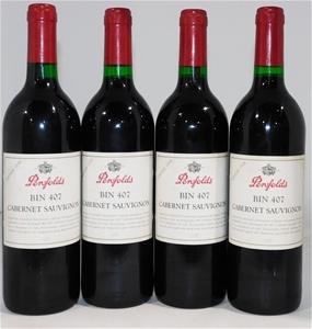 Penfolds `Bin 407` Cabernet Sauvignon 19