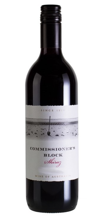 Commissioners Block Shiraz 2018 (12 x 750mL) SEA
