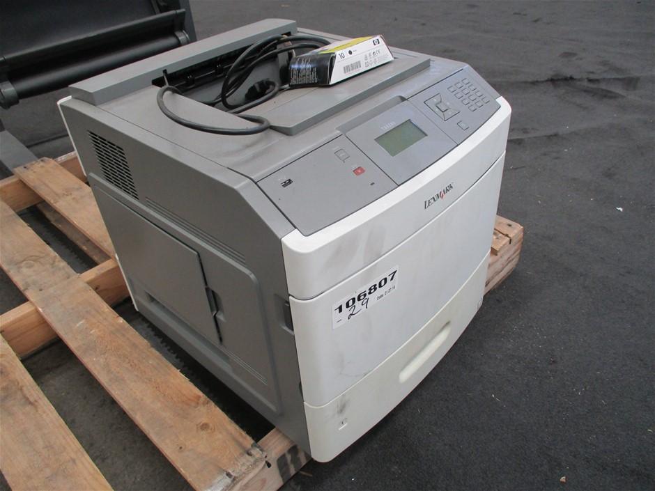 Qty 2 x Lexmark E260AN/M5310DN Laser Printers