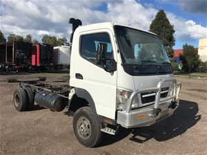 2010 Mitsubishi Canter 4 x 4 Cab Chassis