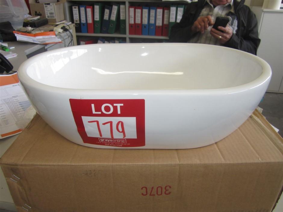 Above Counter vanity Basin in white