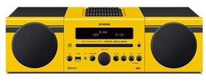 Yamaha MCRB043D Mini HiFi System (Yellow