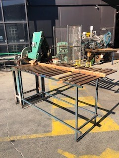 Brevet PS-400 timber saw used in working condition