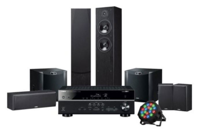 Yamaha LiveSTAGE 6500 Home Theatre System