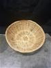 8 x Cane Bread Baskets - 30cm Dia