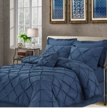 Panache Double Bed Quilt Cover Set by Anfora