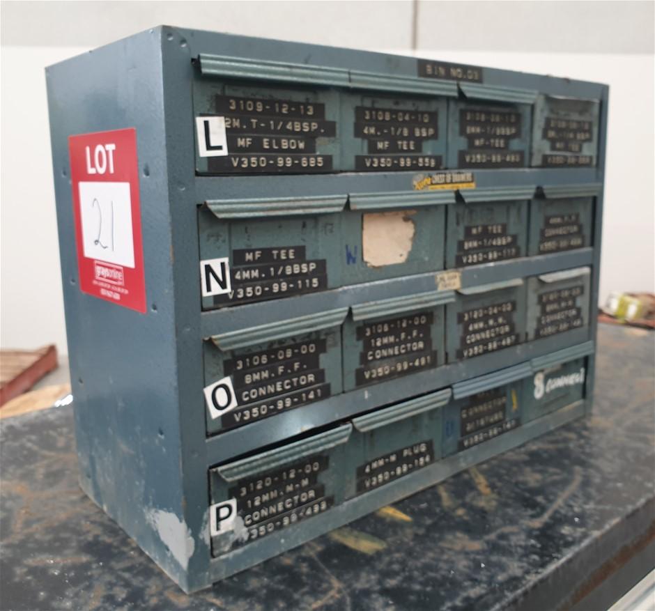 Metal Storage Draws