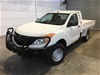 2014 Mazda BT-50 4X4 XT Turbo Diesel Automatic Cab Chassis