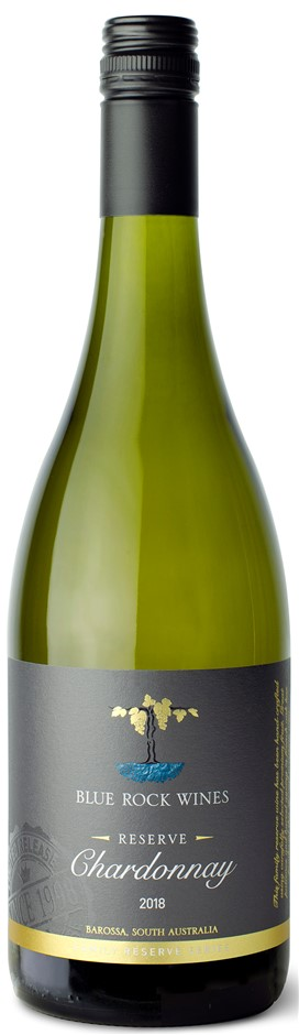 Blue Rock Wines Chardonnay 2018 (6 x 750mL) Eden Valley, SA