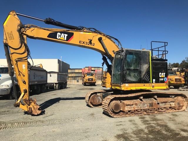 2016 Caterpillar 335F LCR Hydraulic Excavator