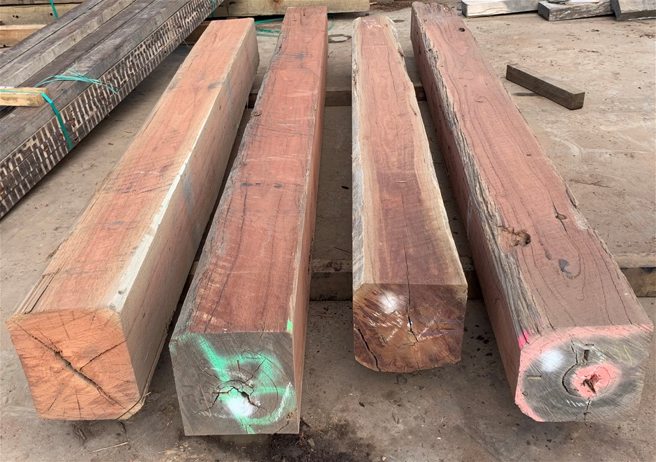 Recycled Hardwood Posts