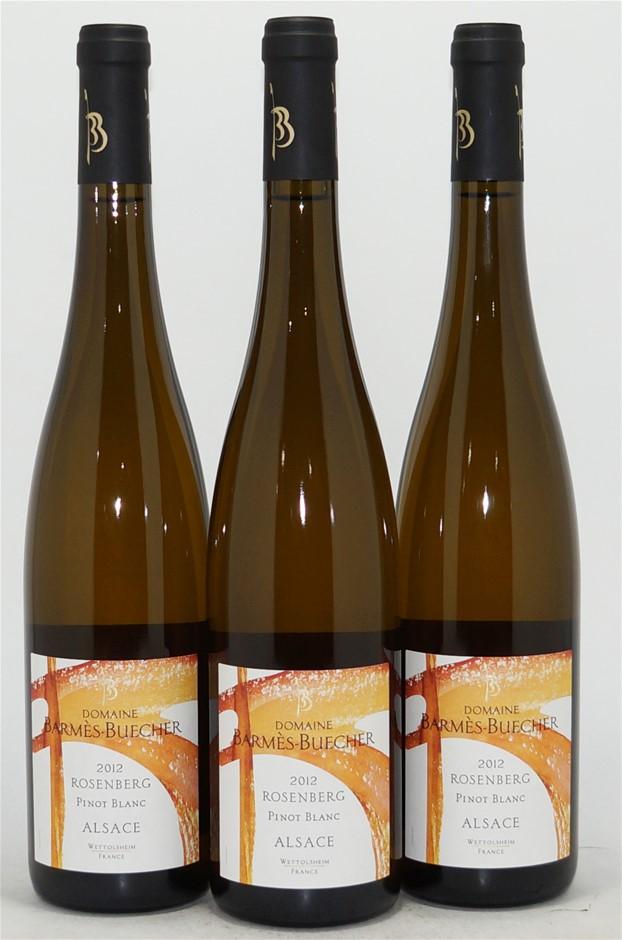 Domaine Barmes-Buecher `Rosenberg` Pinot Blanc 2012 (3x 750mL), Alsace
