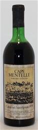 Cape Mentelle Cabernet sauvignon 1979 (1x 738ml), Margaret River. cork