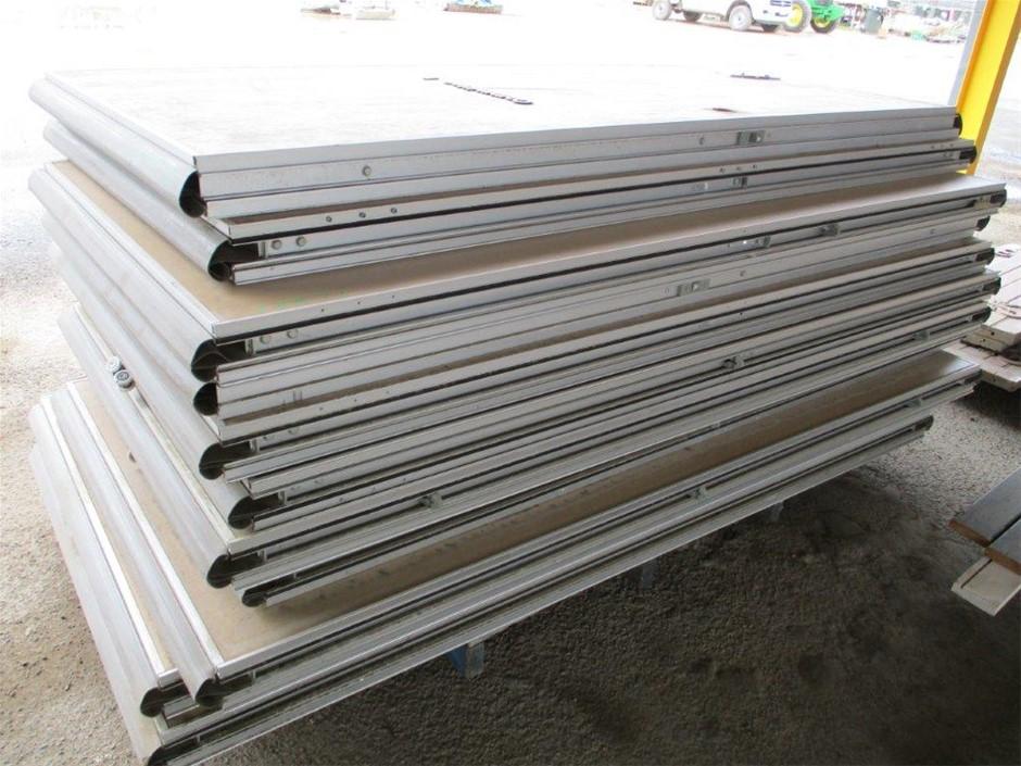 Timber Room Panels Aluminum Framed