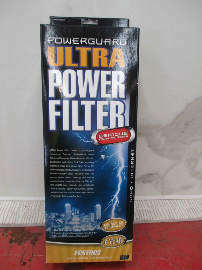 (12 Pack) Fortron Powerguard Ultra Power Filter 6 Outlets (SOHO / Internet)