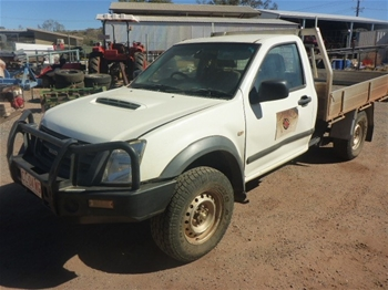 2011 Isuzu DMax 4WD Manual - 5 Speed Ute