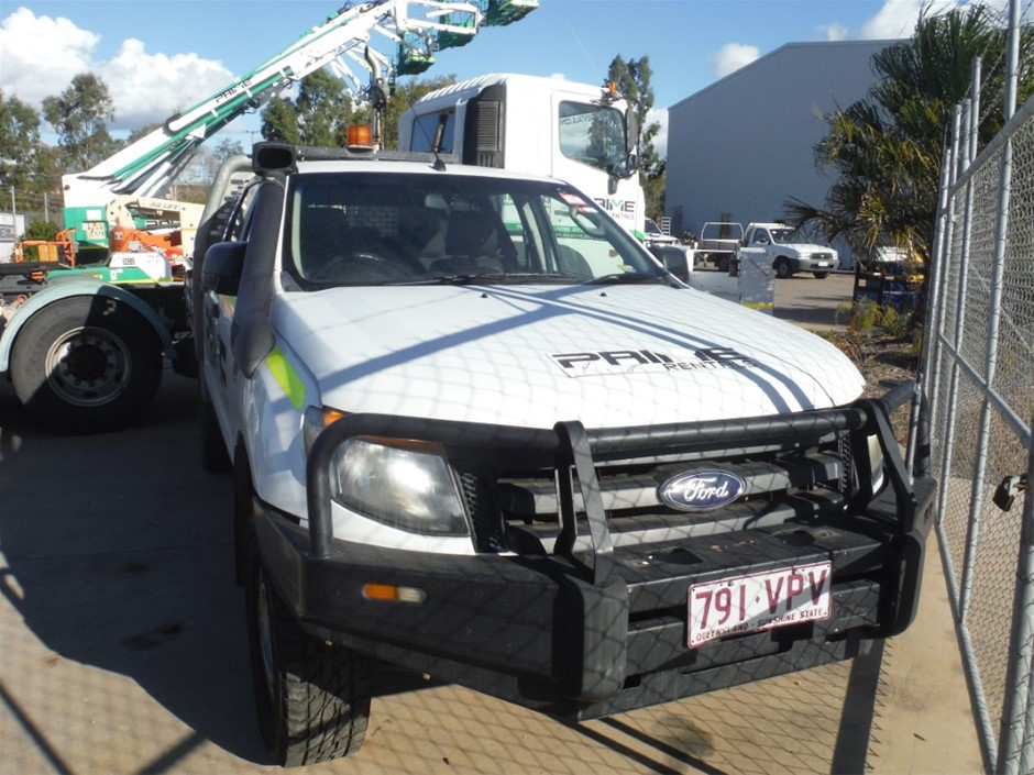 2012 Ford Ranger 4WD Automatic - 6 Speed Dual Cab Ute