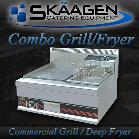 Unused Grill & Deep Fryer Combo