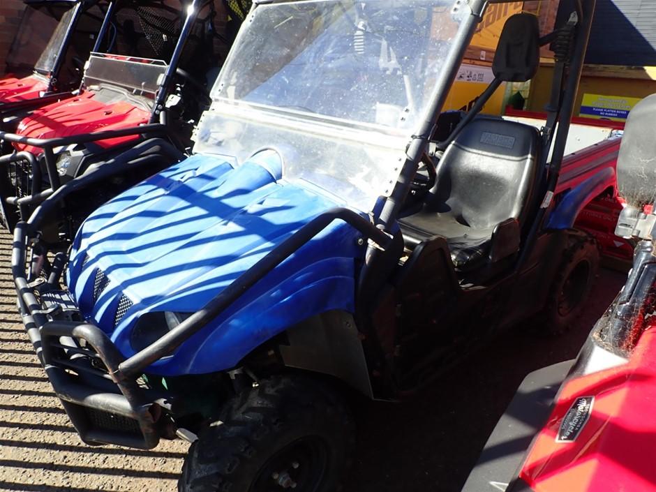 2012 Yamaha Rhino Side by side 2 seater 16652 km km indicated