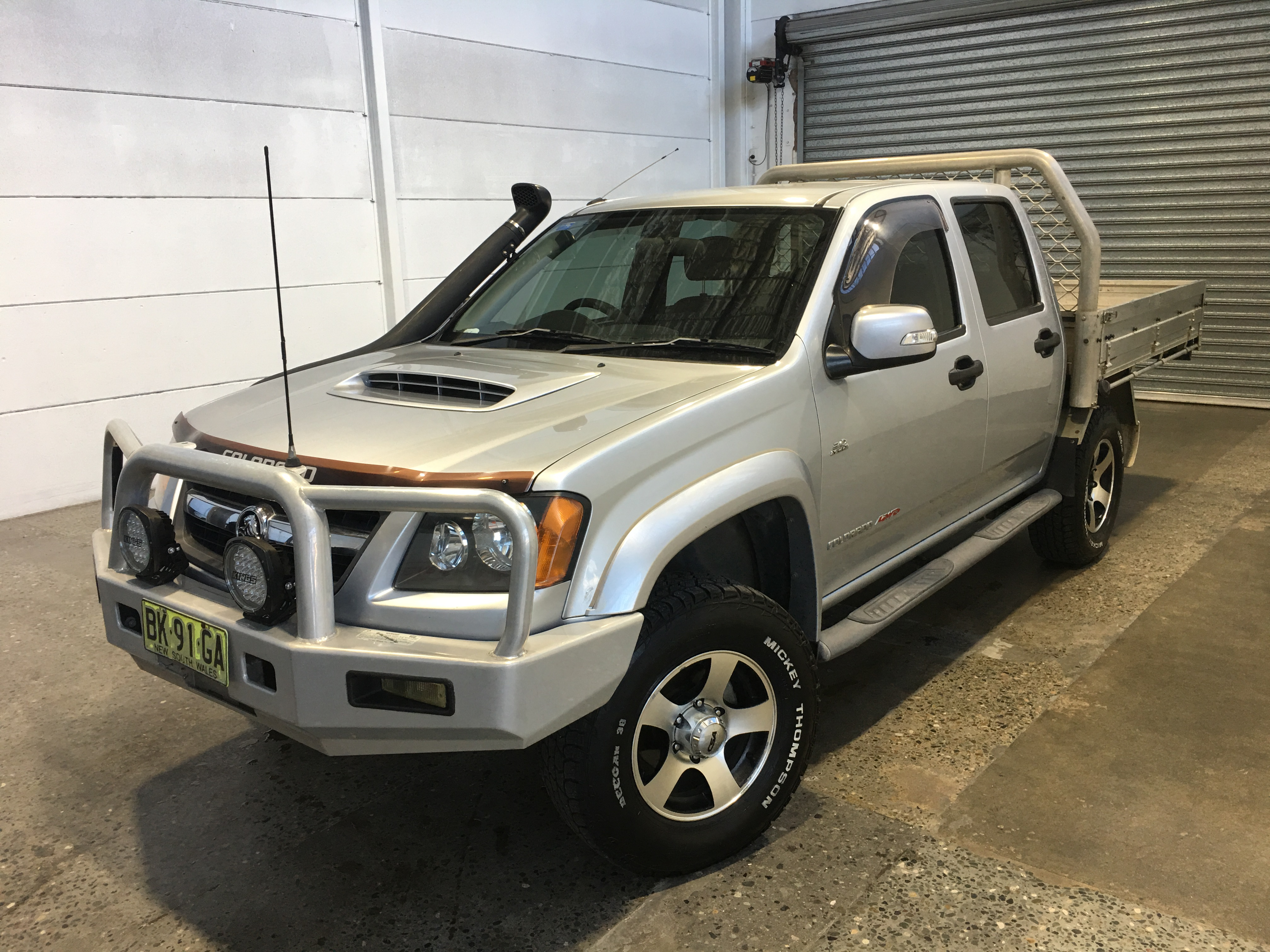 2010 Holden Colorado 4X4 LX 3.0 T/D RC Turbo Diesel Manual Dual Cab