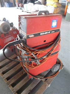 Lincoln Electric REDI-MIG 325R Welder Auction (0055 ...