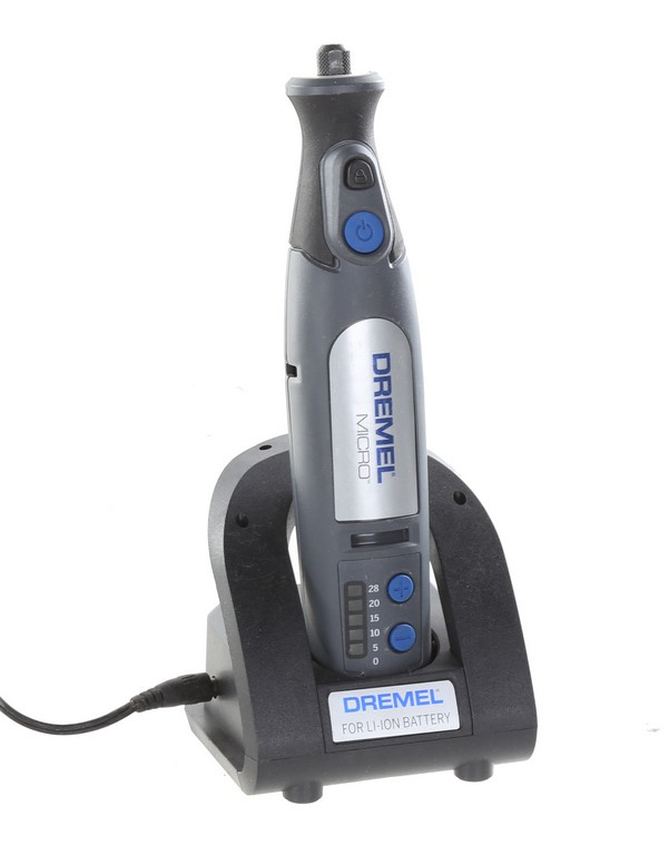 DREMEL Micro Cordless Rotary Tool with Charger. N.B. Ex-Retail Display & no