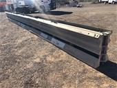 Steel Crash Barriers - 12m, 8m & 4m